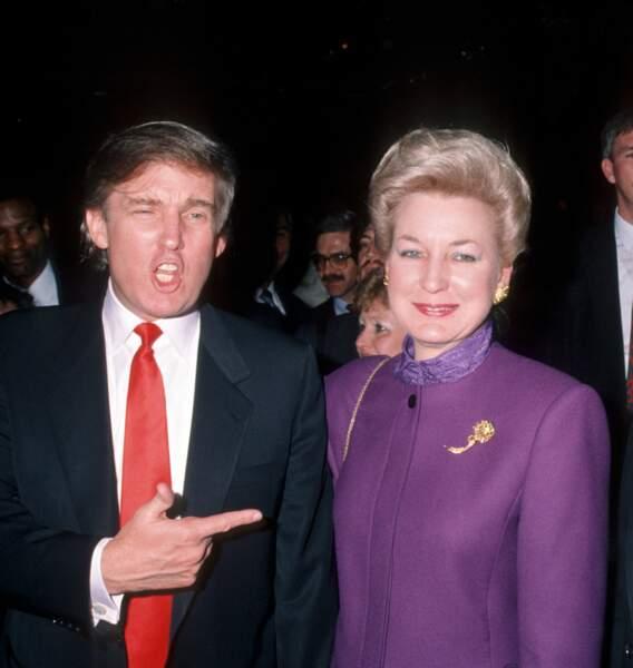 Donald Trump est très proche de sa sœur Maryanne, de 9 ans son aîné, juge à la Cour Suprême