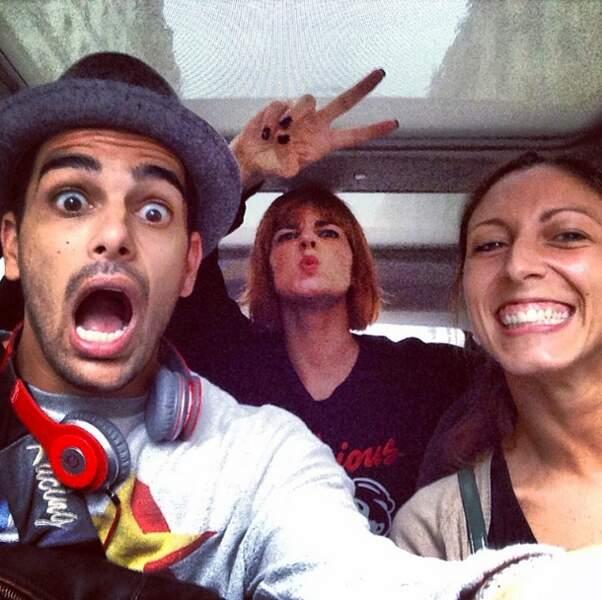 On enchaîne avec Fauve, Silvia et Christophe de DALS qui font les fous en voiture (c'est mal !)