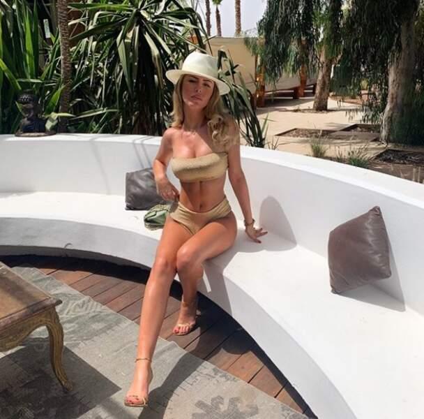 Vacances sous le soleil de Marrakech pour Dita