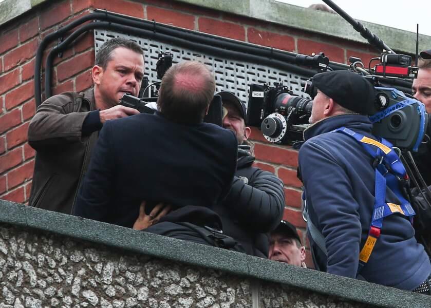 Matt Damon prend très à coeur le tournage de Jason Bourne 5