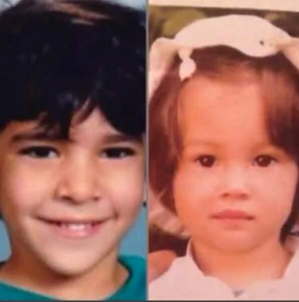 C'est imaginer à qui son bébé va le plus ressembler, à Adil enfant ou à elle petite !