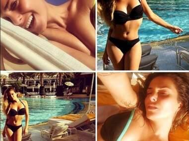 Instagram : Clara Morgane, Amélie Neten, Shy'm, Capucine Anav... Festival de bikinis