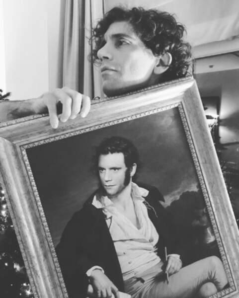 Et quand les fans de Mika lui offrent des cadeaux, ça ne rigole pas ! Chapeau l'artiste.