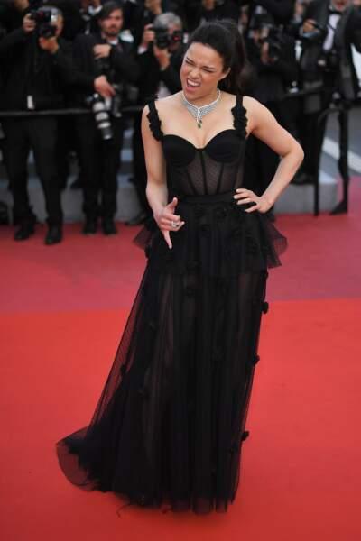 Michelle Rodriguez très à l'aise
