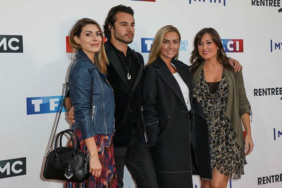 Candice Pascal, Anthony Colette, Inès Vandamme et Elsa Esnoult sont prêts pour DALS !