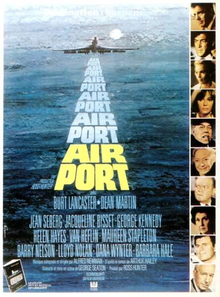 Airport (1970) : le maître étalon d'un genre à la mode dans les annnées 70, nommé à l'Oscar du meilleur film.