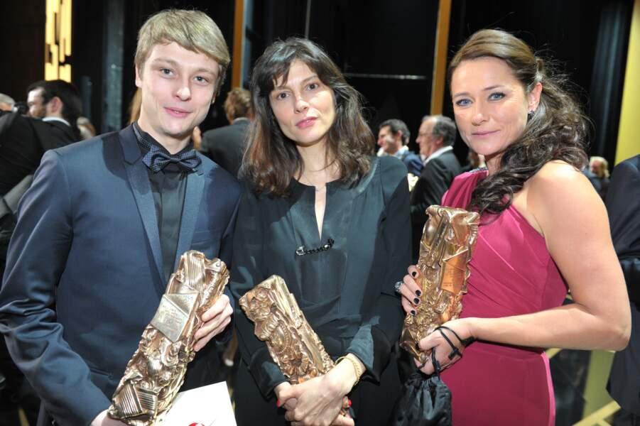 Rod Paradot, Cécile Ducrocq et Sidse Babett Knudsen