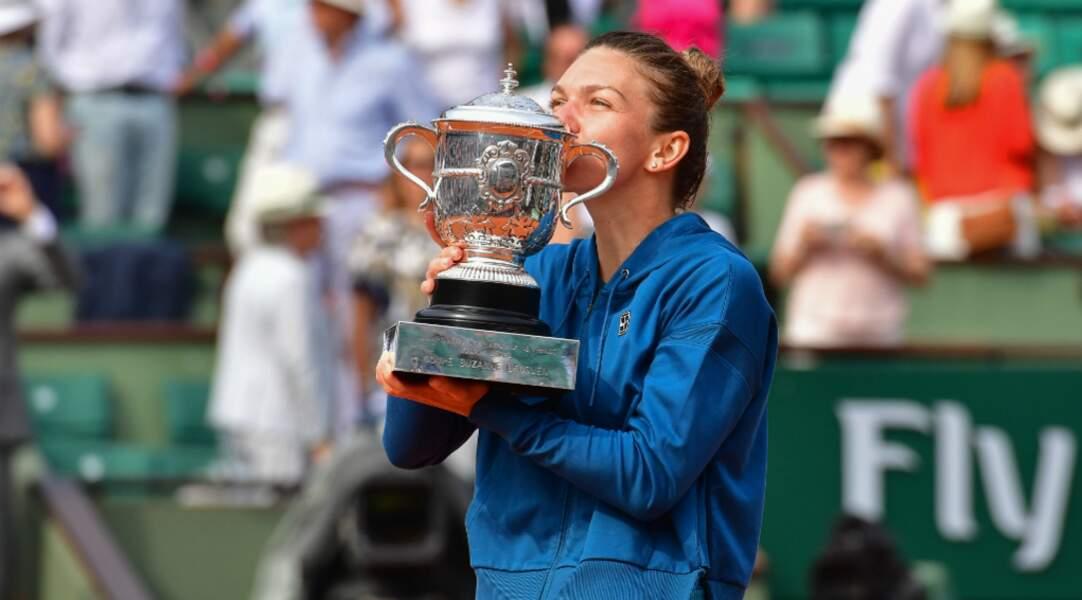 Simona Halep remporte le tournoi en 2018