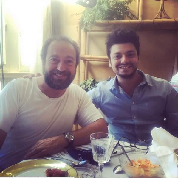 Déjeuner chic avec Patrick Timsit