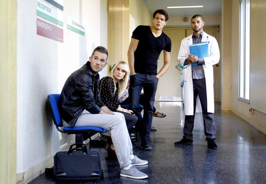 Tournage d'Hollywood Girls - à l'hôpital
