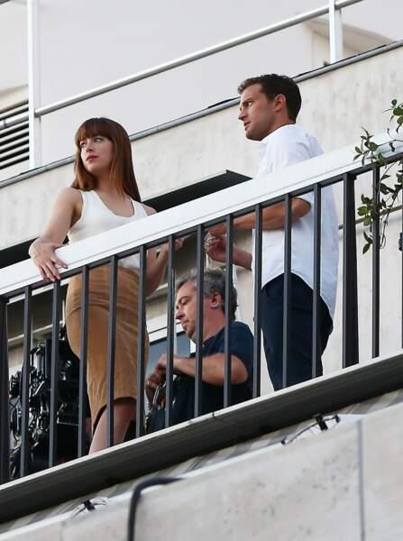 Puis hier, mardi 19 juillet, les deux acteurs étaient de nouveau au balcon