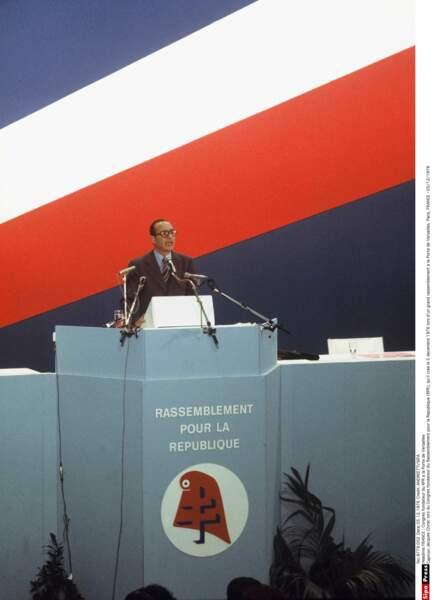 Mais Chirac a de la ressource : il fonde son propre parti, le RPR. Sa première présidence... Et c'est parti !