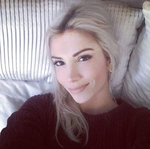 Point mode et beauté : on adore le maquillage d'Alexandra Rosenfeld, simple et efficace.