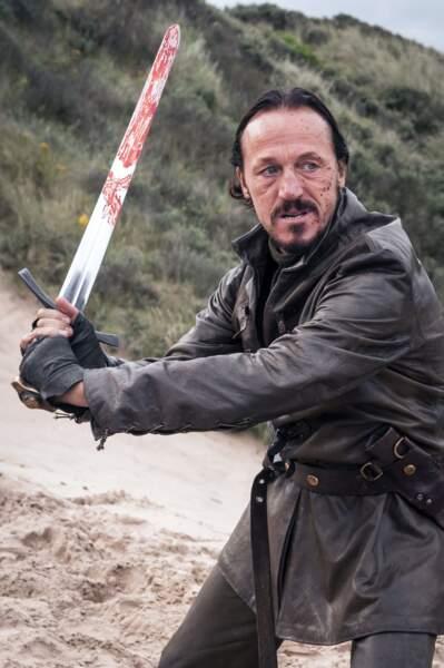 Bronn (Jerome Flynn) est toujours fidèle au poste pour défendre ses amis, Tyrion ou Jaime Lannister