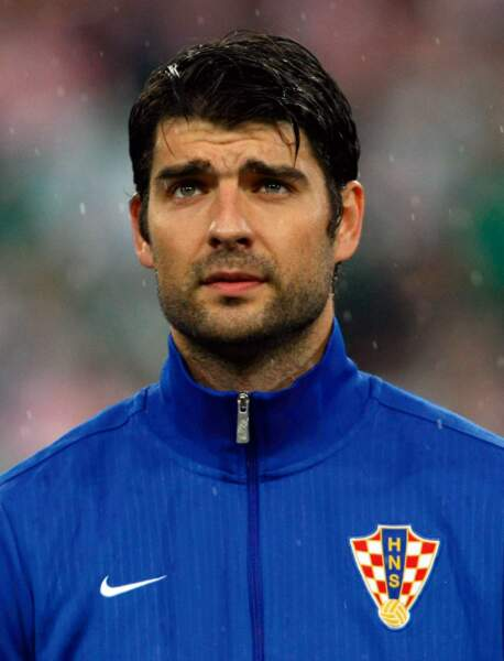 Le footballeur croate Vedran Ćorluka, 28 ans