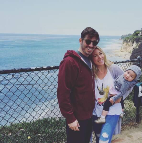 Haylie Duff et son compagnon Matt Rosenberg ont une fille, Ryan, née en 2015