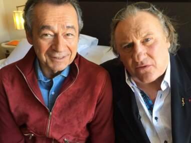 Cannes 2016 : Michel Denisot avec Gérard Depardieu, Christophe Beaugrand à la piscine, Maître Gims aux platines