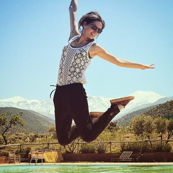 Ah la fameuse photo en sautant ! Indispensable.