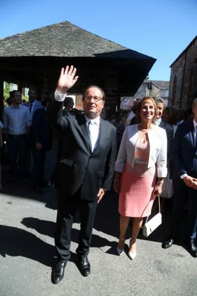 François Hollande avait bien évidemment fait le déplacement pour le mariage de son fils