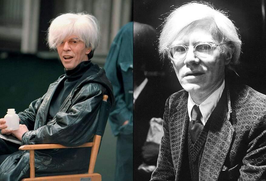 … Andy Warhol, dans le film de Julian Schnabel, Basquiat. Franchement, ça le fait !