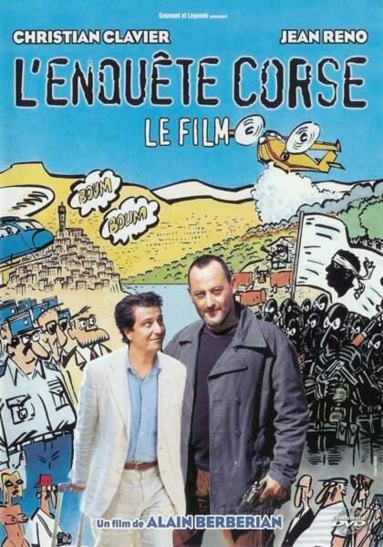 """D'après """"l'Enquête corse"""", avec Jean Reno et Christian Clavier"""