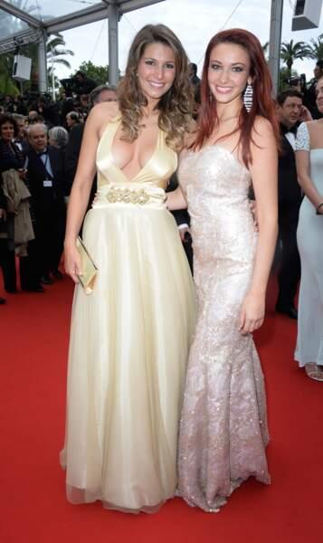 Les deux Miss France se sont déguisées en princesses Disney. Avec un décolleté un peu osé quand même...