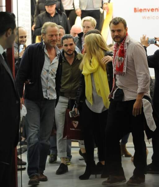 C'était l'occasion de tous se réunir : de Ian Glen (Jorah Mormont) à Kit Harington (Jon Snow)