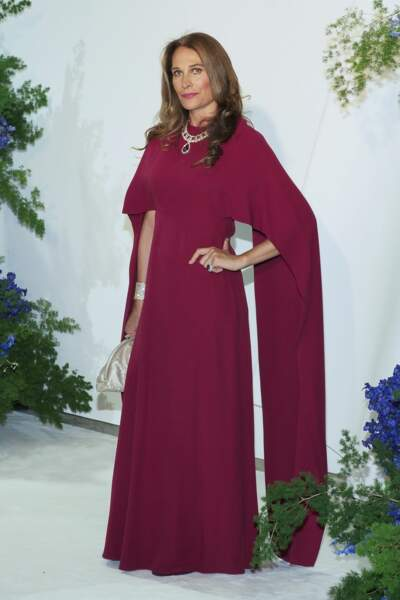 La Princesse Antonella d'Orleans Bourbon au gala de la Croix Rouge