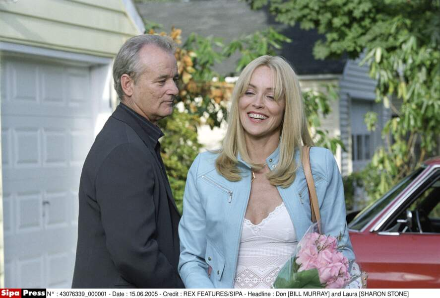 Avec Bill Murray dans Broken Flowers en 2005