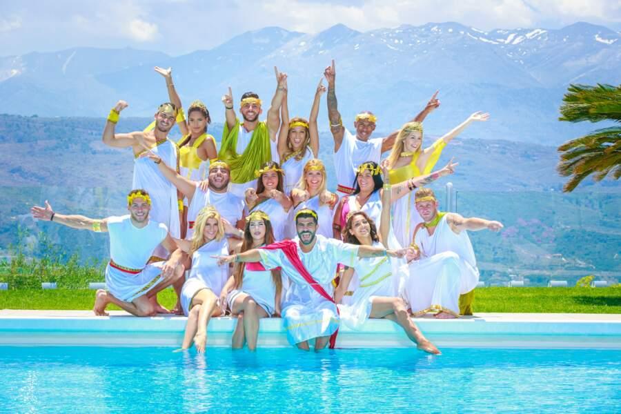 Pendant un mois, 16 Anges se sont retrouvés pour passer des vacances en Grèce !