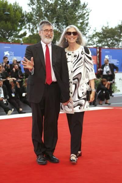 Le cinéaste John Landis et son épouse Deborah