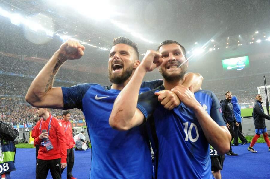 Giroud et Gignac sont aux anges