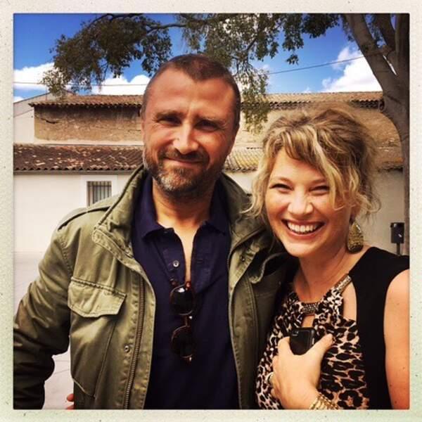 À Sète, Alexandre passe un instant de complicité avec la merveilleuse Cécile Bois