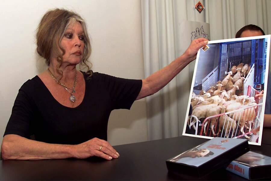 Brigitte Bardot a créée sa fondation en 1986 pour protéger les animaux