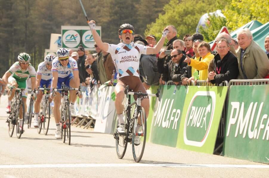 Samuel Dumoulin tentera de décrocher une deuxième victoire d'étape après son unique succès en 2008