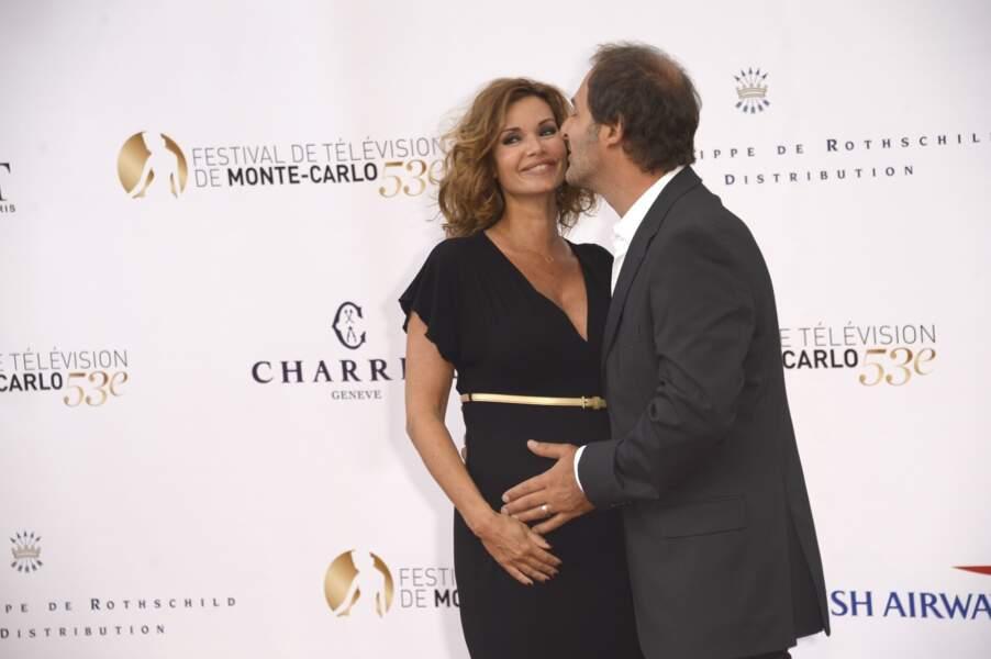 Les deux amoureux se sont rencontrés sur le tournage des Toquées, fiction de TF1.