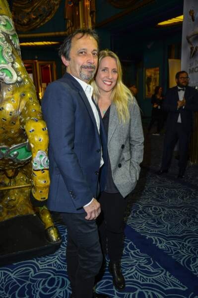 Le couple Éric Métayer et Andréa Bescond