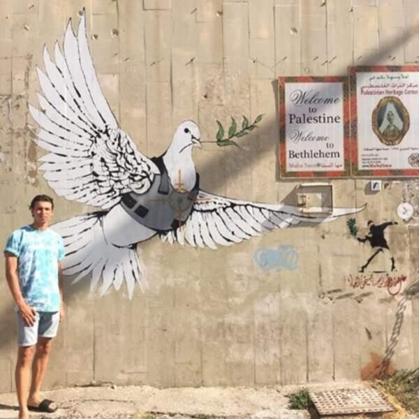 Le rappeur Georgio a fait du tourisme en Palestine.