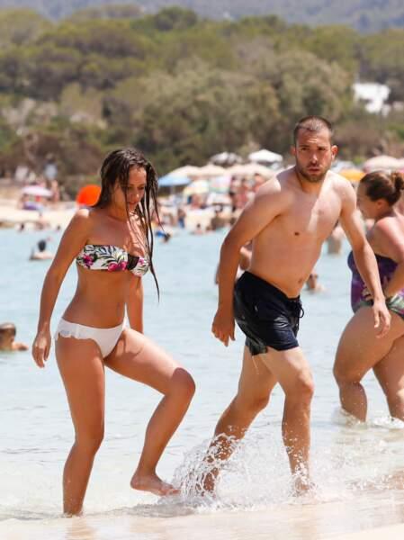 Son confrère Jordi Alba était avec sa copine à Ibiza.