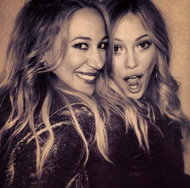 Régulièrement, les deux soeurs Duff posent ensemble sur Instagram