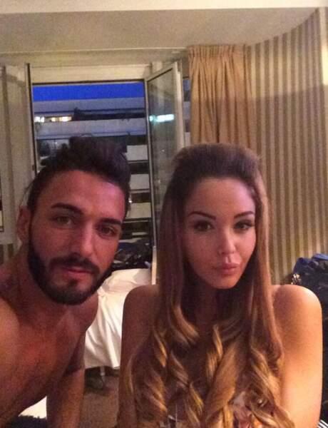 Le couple Thomas-Nabilla est bien arrivé à Cannes