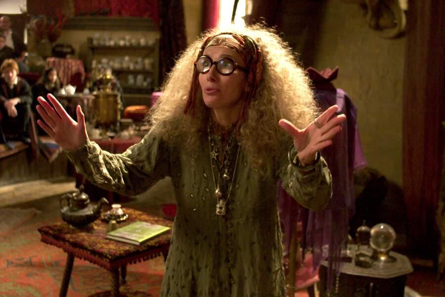 Complètement allumée en professeur de divination incompétente dans la saga Harry Potter