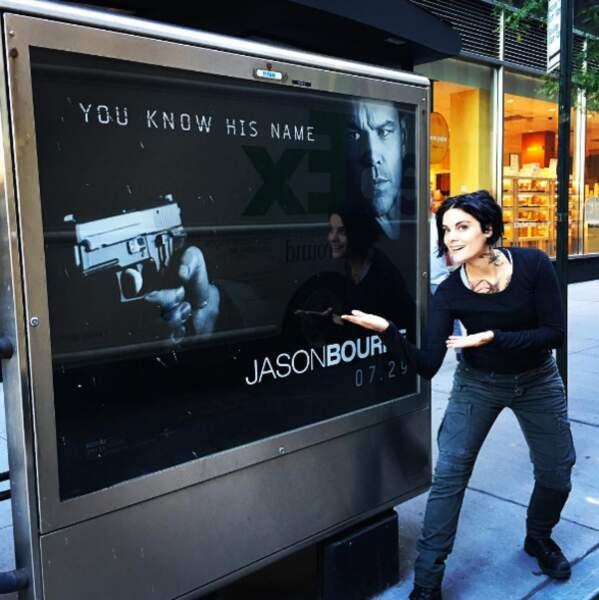 Oui, c'est vrai, Jane Doe de Blindspot peut faire penser à Jason Bourne