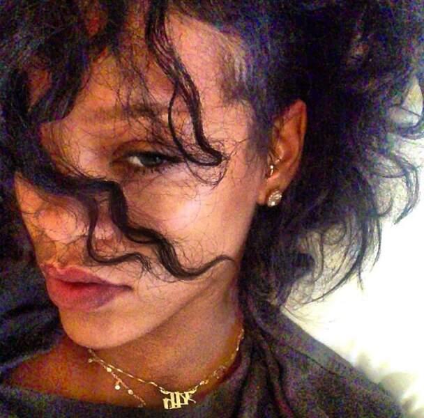 Apparemment, le ventilo de la chambre de Rihanna n'est pas orienté dans le bon sens