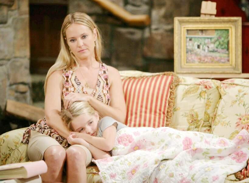 Elle fut aussi la fille de Sharon et Nick dans Les feux de l'amour