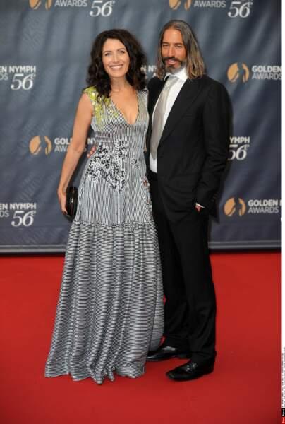 Lisa Edelstein et son mari Robert Russell
