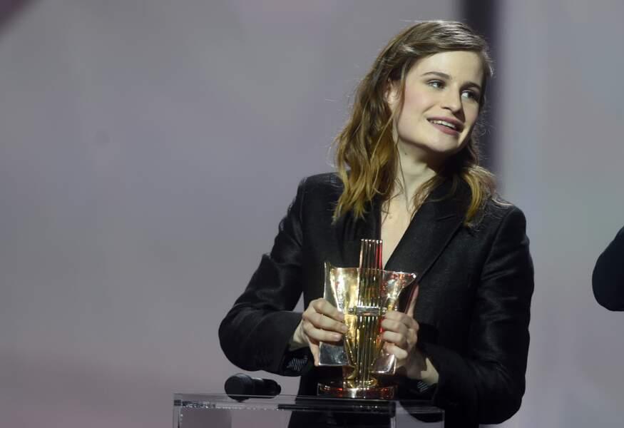 Christine and the Queens a reçu deux prix : artiste féminine et meilleur clip de l'année