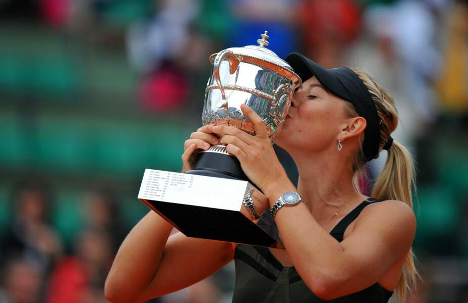 Maria Sharapova vainqueur en 2014 et 2012