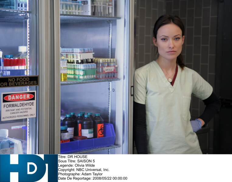 ...Olivia Wilde, plus connue pour son personnage de numéro 13 dans Dr House