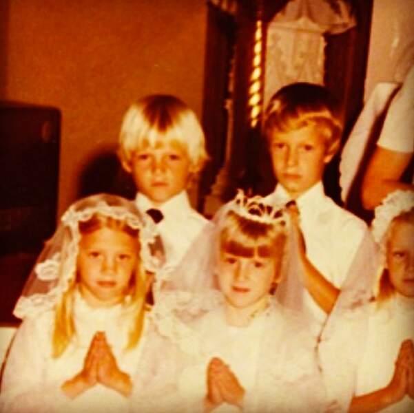 Qui a dit que Norman Reedus (en haut à gauche) n'était pas un enfant de chœur ?